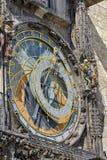 Orologio astronomico Praga Immagine Stock Libera da Diritti
