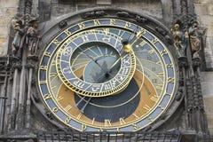 Orologio astronomico Praga Fotografie Stock