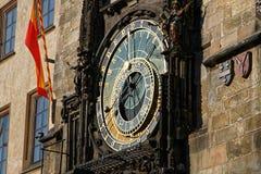 Orologio astronomico a Praga Immagine Stock