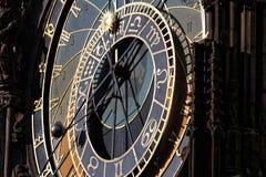 Orologio astronomico a Praga Immagine Stock Libera da Diritti