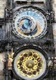 Orologio astronomico - Praga Immagini Stock
