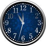 Orologio blu illustrazione vettoriale