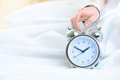 Orologio che mostra un tempo di pomeriggio Immagine Stock Libera da Diritti