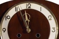 Orologio classico con il puntatore commovente Immagini Stock Libere da Diritti