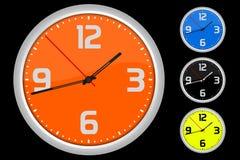 Orologio colorato Fotografia Stock Libera da Diritti