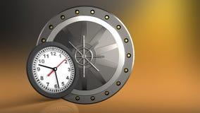 orologio 3D Immagini Stock