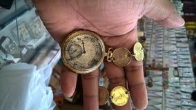 Orologio d'annata fotografia stock