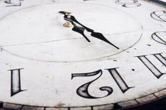 Orologio d'annata analogico Fotografia Stock Libera da Diritti