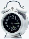 Orologio d'annata bianco Fotografia Stock