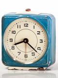 Orologio d'annata blu Immagini Stock Libere da Diritti