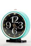 Orologio d'annata blu Immagine Stock