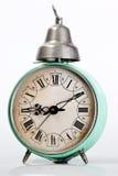 Orologio d'annata blu Fotografia Stock Libera da Diritti