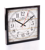 Orologio d'annata isolato su fondo bianco Fotografia Stock Libera da Diritti
