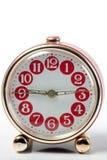 Orologio d'annata rosso Immagine Stock Libera da Diritti