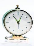 Orologio d'annata verde Fotografia Stock Libera da Diritti