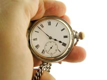 orologio da tasca Fotografie Stock Libere da Diritti