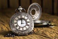 Orologio da tasca antico Immagine Stock