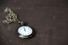Orologio da tasca d'annata fotografia stock libera da diritti