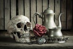 Orologio da tasca di natura morta Fotografia Stock Libera da Diritti