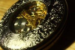 Orologio da tasca vecchia C Fotografie Stock