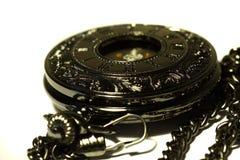 Orologio da tasca vecchio G Fotografia Stock