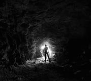Orologio dal tunnel fotografia stock libera da diritti