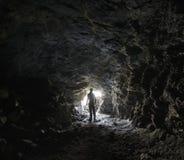 Orologio dal tunnel immagini stock libere da diritti