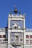 ` Orologio de vallon de Torre de tour d'horloge du ` s de St Mark sur Piazza San Marco, Venise, Italie Image libre de droits