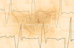 Orologio dei Puls Immagine Stock
