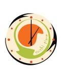 Orologio dei sushi Fotografia Stock Libera da Diritti