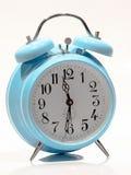 Orologio del blu di bambino vecchio Immagini Stock Libere da Diritti