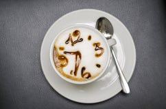 Orologio del caffè Fotografia Stock