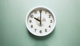 Orologio del ` di dieci o Immagine Stock