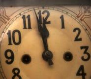 orologio del ` di 12 o Fotografie Stock