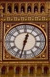 Orologio del fronte del grande Ben Fotografie Stock