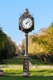 Orologio del giardino di Cismigiu Fotografia Stock