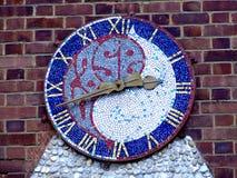 Orologio del mosaico Fotografie Stock