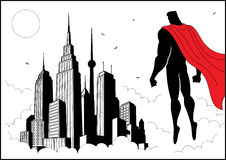 Orologio 4 del supereroe Fotografie Stock Libere da Diritti