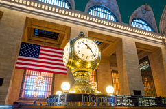 Orologio del terminale di Grand Central fotografia stock
