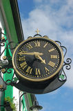 Orologio del trifoglio di tempo Fotografia Stock Libera da Diritti