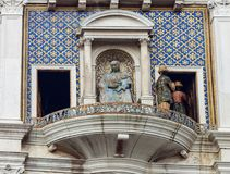 ` Orologio Dell башни с часами, или Torre, Венеция, Италия Стоковое Фото