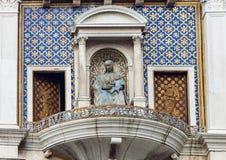 ` Orologio Dell башни с часами, или Torre, Венеция, Италия Стоковая Фотография