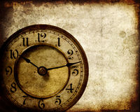 Orologio dell'annata illustrazione di stock