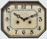 Orologio dell'annata del quadrante Fotografia Stock