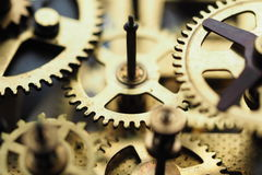 Orologio dell'ingranaggio Fotografie Stock Libere da Diritti