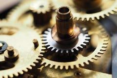Orologio dell'ingranaggio Fotografia Stock
