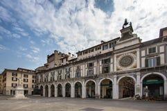 ` Orologio Dell Torre, Брешия, Италия Стоковые Фото