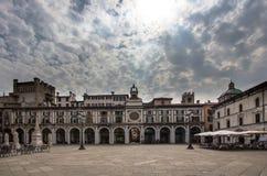 ` Orologio Dell Torre, Брешия, Италия Стоковые Изображения