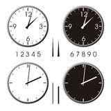 Orologio dell'ufficio Fotografia Stock
