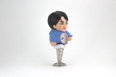 Orologio della bambola dell'uomo Immagini Stock